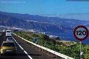 Дорога из окна автобуса / Испания