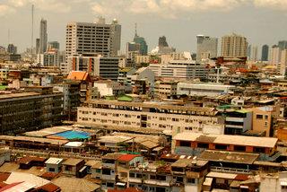 Бангкок. Вид с Золотой горы  / Таиланд
