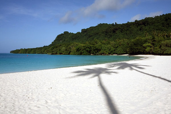 Белоснежный пляж в Вануату / Фото из Вануату