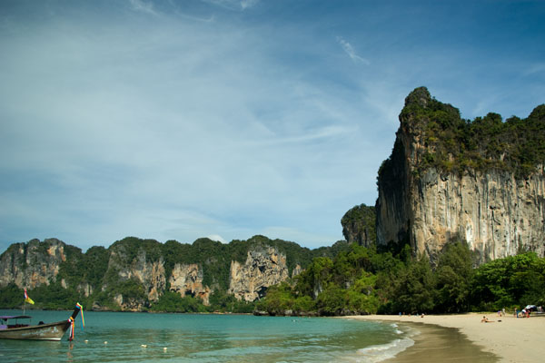 Вест-Раиле-Бич - один из лучших пляжей Краби / Фото из Таиланда