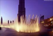Шоу фонтанов / ОАЭ
