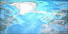 Полет над Атлантикой / США