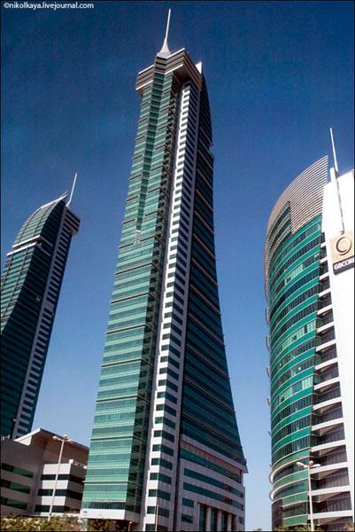 В современном центре Бахрейна / Фото из Бахрейна