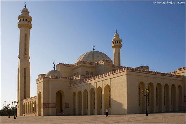 Соборная мечеть Аль-Фатих в Бахрейне / Фото из Бахрейна