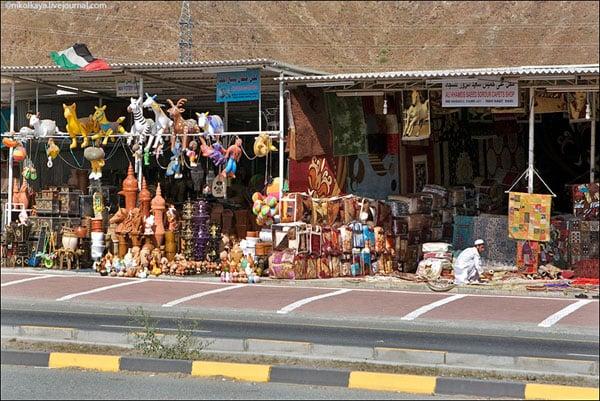 Пятничный рынок в Фуджейре, ОАЭ / Фото из Бахрейна