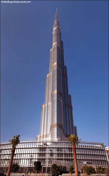 Бурдж-Халифа - самое высокое здание в мире, Дубай / Фото из Бахрейна
