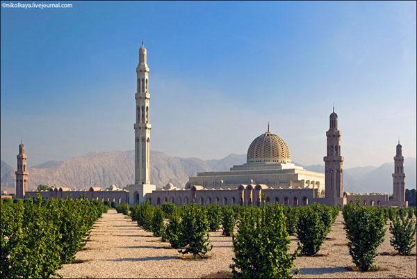 Мечеть султана Кабуса, Оман / Фото из Бахрейна