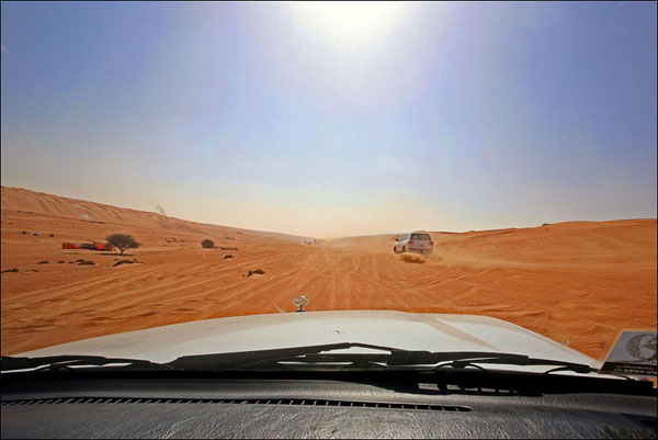 Навстречу пескам, Оман / Фото из Бахрейна