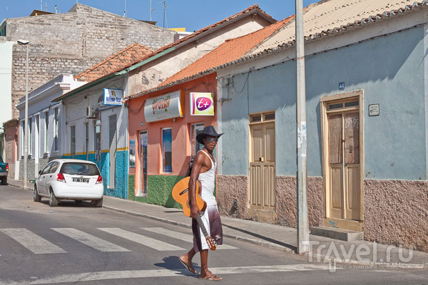 На сонных столичных улочках Праи / Фото из Кабо-Верде