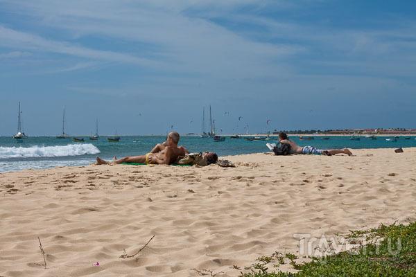 Пляж на острове Сал, Кабо-Верде / Фото из Кабо-Верде