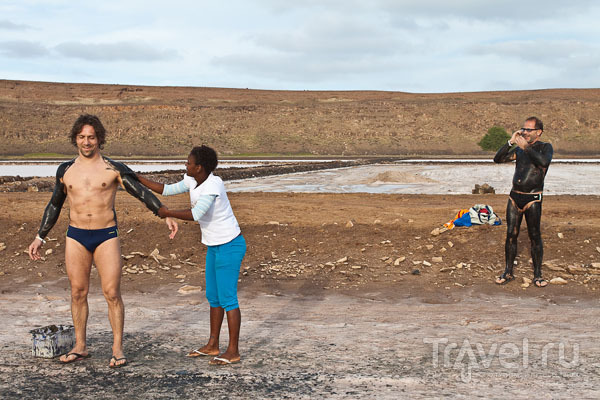 Вулканические spa-процедуры, остров Сал / Фото из Кабо-Верде