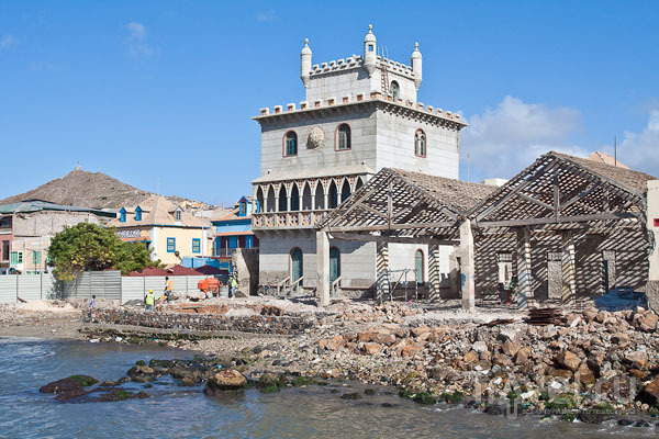 Вифлеемская башня в Минделу, остров Сан-Висенте / Фото из Кабо-Верде