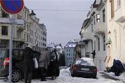 Одна из центральных улиц / Норвегия