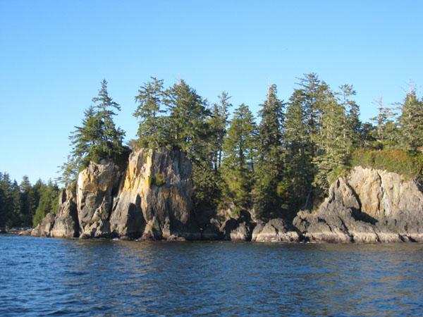 Архипелаг Broken Group Islands в национальном парке Pacific Rim, Ванкувер / Фото из Канады