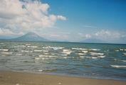 Остров Ометепе, вид с пристани / Никарагуа