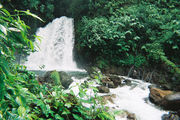Водопад Ланта в р-не вулкана Серро-Чато / Коста-Рика