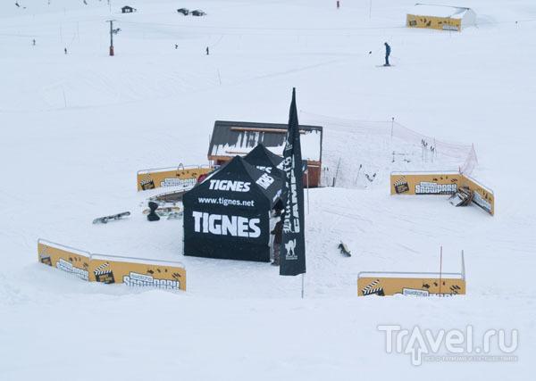 Swatch Snow Park в Тине / Фото из Франции