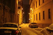 Улочка в центре / Латвия