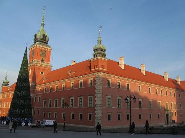 Королевский дворец, Варшава / Фото из Польши