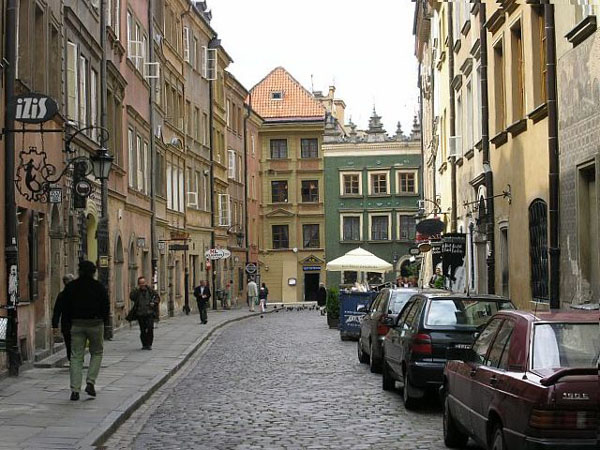 Улицы Старого города, Варшава / Фото из Польши