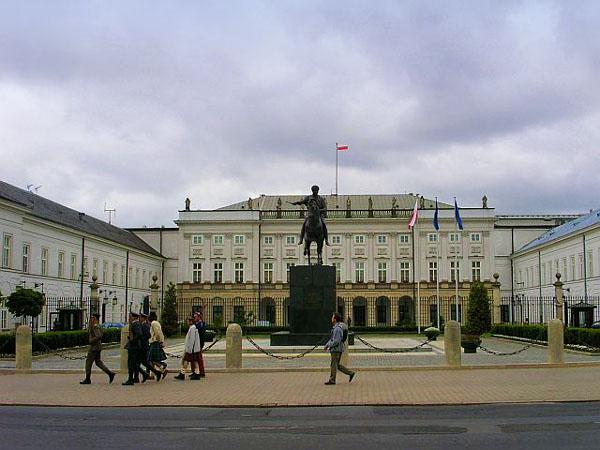 Президентский дворец, Варшава / Фото из Польши