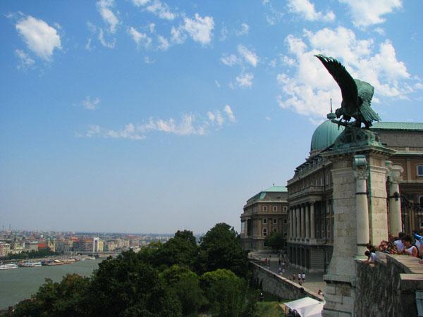 На смотровой площадке у Королевского дворца, Будапешт / Фото из Венгрии