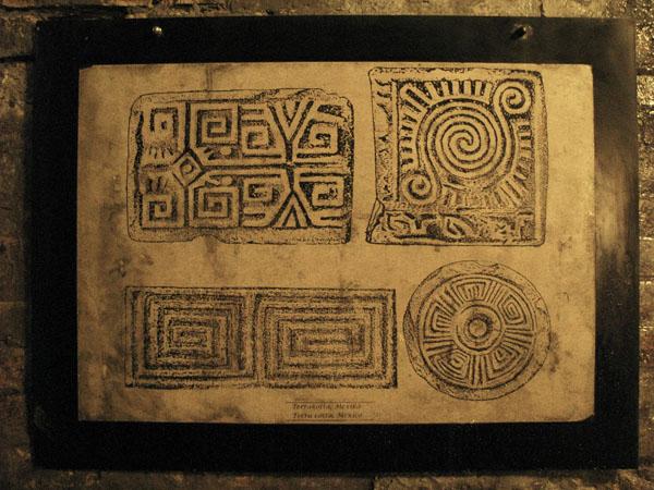 Коллекция схем лабиринтов в катакомбах Буды / Фото из Венгрии