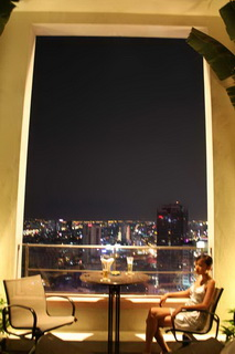 Бар на 23-м этаже Sheraton Hotel / Вьетнам