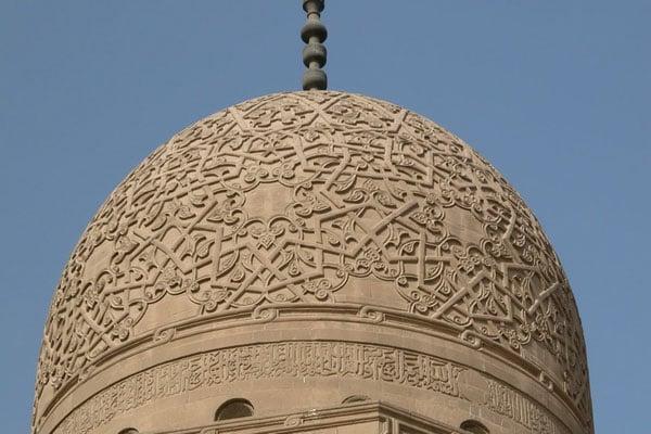 Узоры на куполе, комплекс султана Каитбея / Фото из Египта