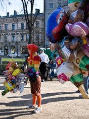 Продавец шариков / Финляндия