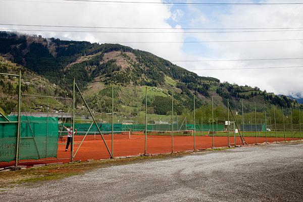 Теннисные корты в Капруне / Фото из Австрии