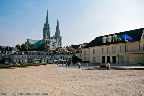 Шартр - небольшой город недалеко от Парижа / Фото из Франции