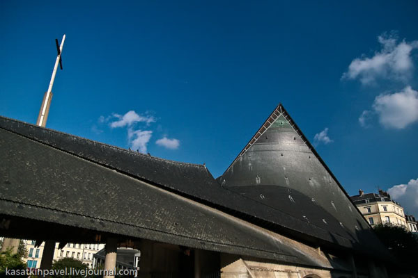 Собор Святой Жанны д'Арк на месте ее казни, Руан / Фото из Франции
