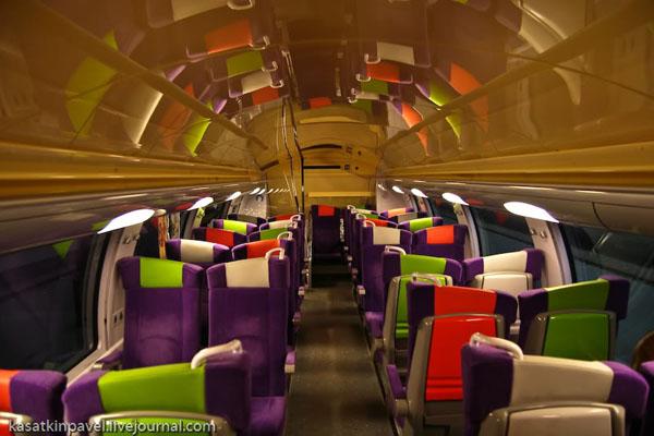 Из Парижа в Руан - на поезде SNCF / Фото из Франции