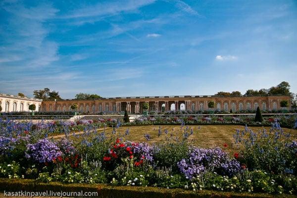В парке Большой Трианон, Версаль / Фото из Франции