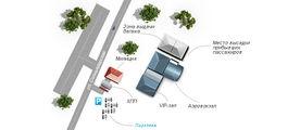 План аэровокзала / Россия
