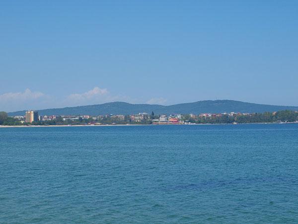 Вид на курорт Приморско / Фото из Болгарии