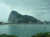 Вид на Гибралтар со стороны Ла-Линеа / Гибралтар (Брит.)