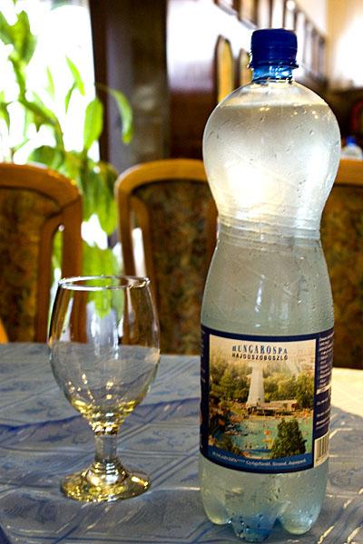 Минеральная питьевая вода из источников в Хайдусобосло / Фото из Венгрии