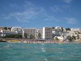 Пляж, вид с моря / Испания