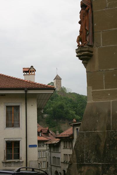 Детали на старинных домах / Фото из Швейцарии