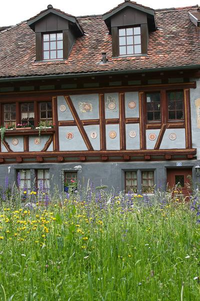 Старый дом на обратном пути / Фото из Швейцарии