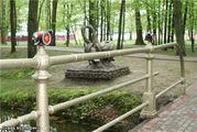 Сквер возле реки / Белоруссия