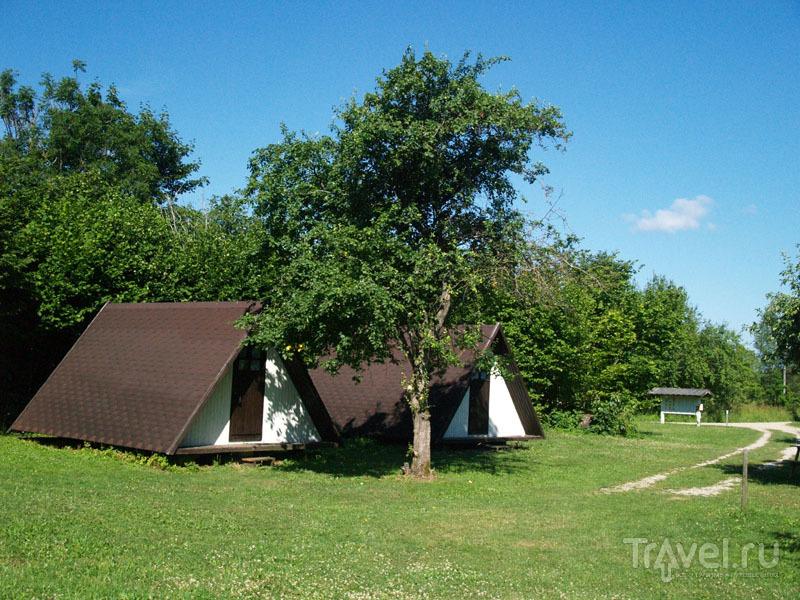 Кемпинг Aki на острове Муху / Фото из Эстонии