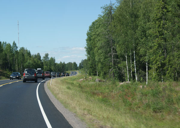 Дорога в Хельсинки / Фото из Норвегии