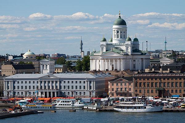 Город Хельсинки особенно красив в ясную погоду / Фото из Норвегии