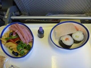 Питание на борту JAL / Япония