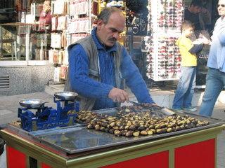 Продавец каштанов / Турция