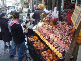 Прилавок с соками / Турция