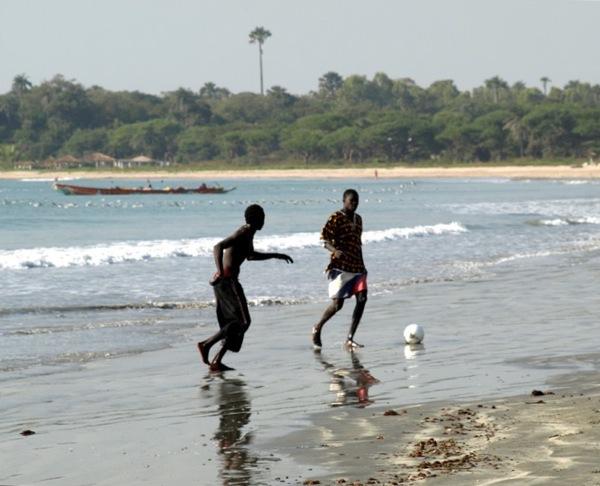 На побережье Гамбии / Фото из Гамбии